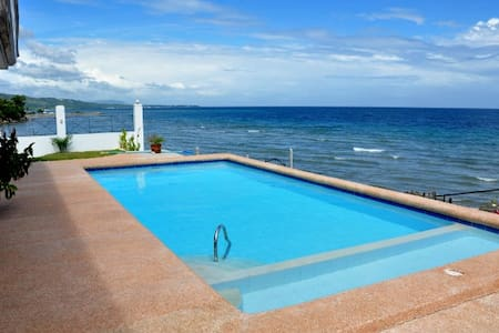 SeaFront Villa with Private Pool & 3 employees - Villa