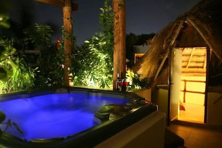 Romantic private jacuzzi best location in playa - Playa del Carmen - Apartment