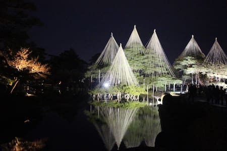 5min walk to Kenrokuen & Kanazawa castle FREE WiFi - Kanazawa - Hus