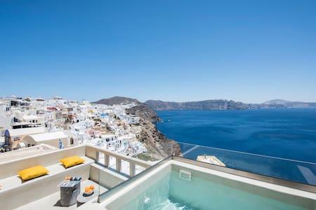 The 'Top Caldera view' villa in Oia - Ia