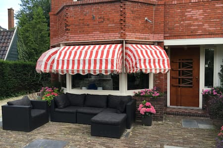 Modern Family Mansion 6 PPL, 4BR - Haarlem - Haus