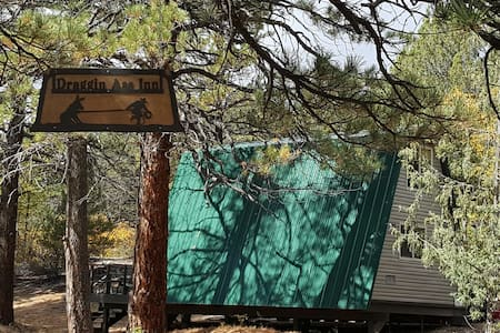 Off the grid A FRAME CABIN near Zion National Park - Orderville