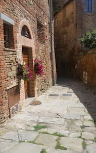 """Country flat """"Il Nido"""" in pieno centro storico - Panicale - Lägenhet"""