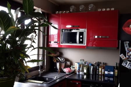 Studio proche Paris - vue dégagée - Appartement