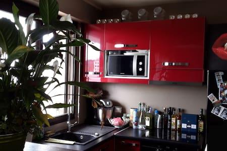Lovely studio near Paris- Open view - Apartment