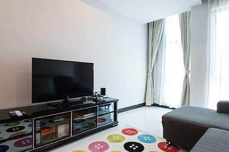 Quiet yet Cozy Room @ KL City Center, Near LRT - Kuala Lumpur - Wohnung