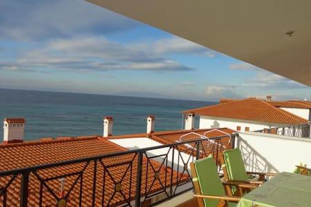 Апартаменты с видом на море - Nea Skioni - Flat