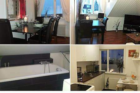 Cozy Loft Apt. near City Center - Byt