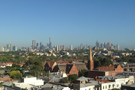 One Bedroom Unit with City Views - South Yarra - Apartment