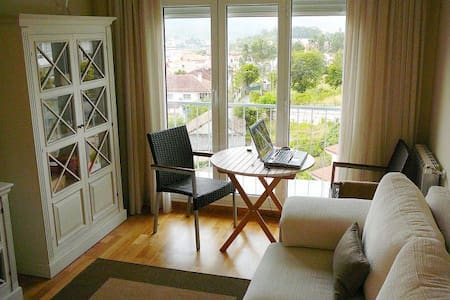 Penthouse: Balcony over Pontevedra - Appartement