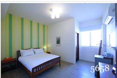 蔚藍白鷺-綠映雙人房 - Bed & Breakfast