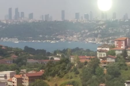 Beautiful flat with great view in the bosphorus - Beykoz - Apartment