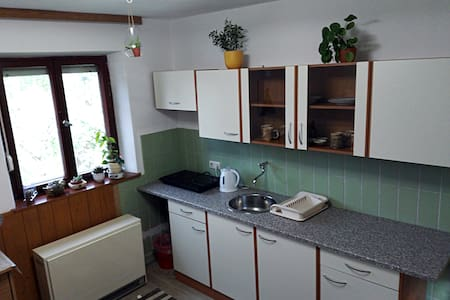 Cozy room with private kitchen - Tapfheim - Hus