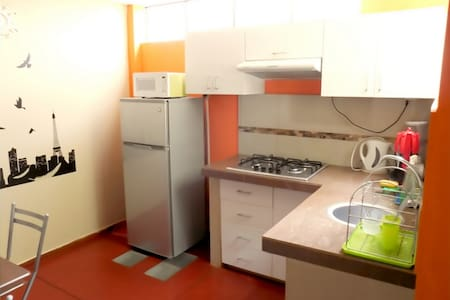 Estudio Privado Amoblado ideal para Estudiantes - Apartment