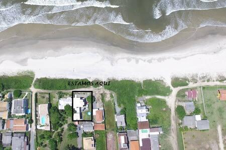 SUÍTE C/ VISTA PARA O MAR, Barra do Saí, Guaratuba - Guaratuba - Casa