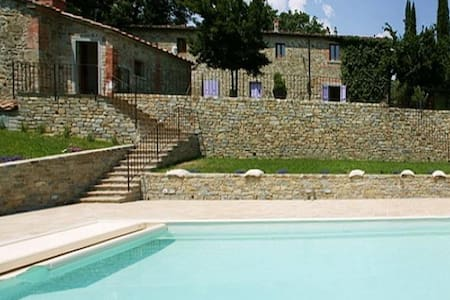 Beautiful country house with pool and Jacuzzi - Salutio