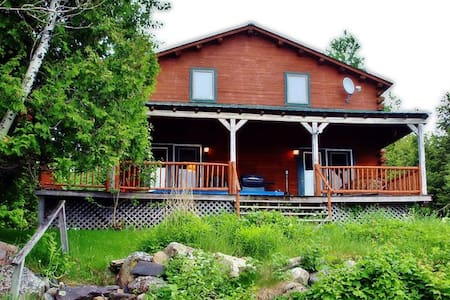 Splendid 3BR Big Wood Lake Home - Jackman