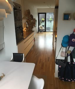 110m2 and free parkring - Copenhagen - Townhouse