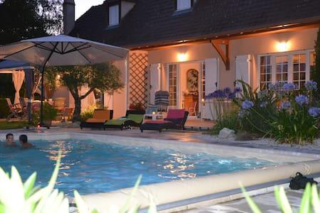 Maison Béarnaise avec Piscine proche PAU PYRENEES - Haus
