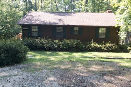 Perfect for Master's Week - Cabin on Lake Thurmond - Lincolnton - Cabaña