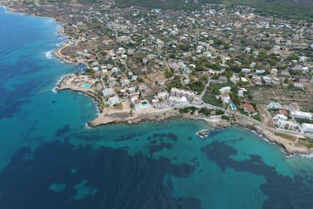 50m² flat on the saronic sea - Aegina Island - Vathi