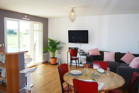 So Green, appartement avec terrasse sur le golf... - Dieppe - Leilighet