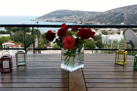 Seaview Beach House Near Athens 20min from Airport - Keratea