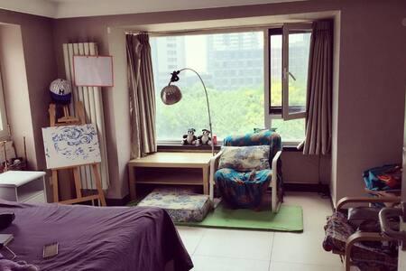 Sunny Loft! A world traveler's room!Next to subway - Beijing - Loft