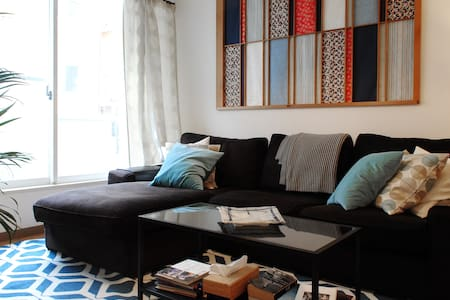 Hiroo Azabu - ★Quiet 2 Bedroom near Embassies★ - Leilighet
