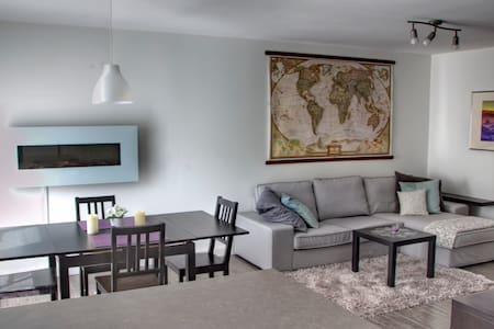 Sunny modern apartment Old Beloeil - Apartment