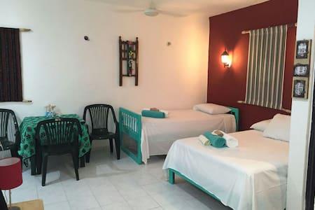 Casa Tulipan-Centro flat on Hidalgo - Isla Mujeres - Apartment