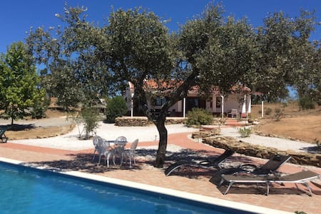 Beautiful country cottage and luxury swimming pool - Ourique - Huis