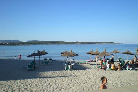 WOHNUNG 13/2-ON THE BEACH - S'Illot-Cala Morlanda