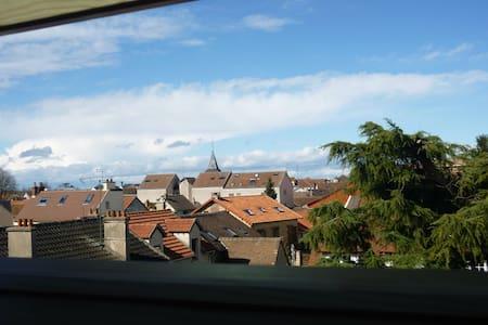 Duplex bordure de forêt - Ch hôte - Voisins-le-Bretonneux - Appartement