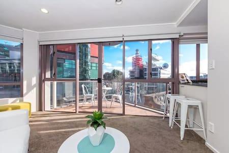 奥克兰-市中心高尚实惠安全安静公寓大双人房带卫浴2~3人 - Auckland