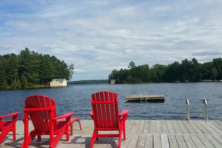 Muskoka Cottage: Great Views&Sports - Georgian Bay - Chatka
