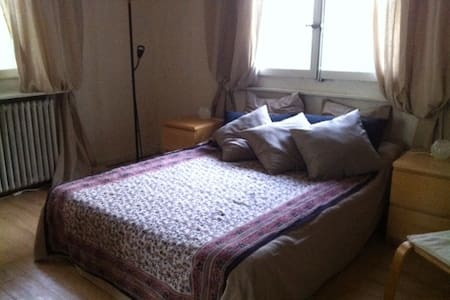 Private bedroom with parking in Montfleury - Rumah