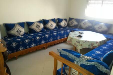 Appartement F3 sympa à 3 kms de Mehdia Plage - Kénitra - Apartment
