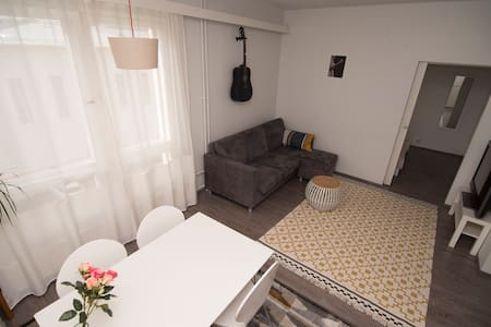 Apartment in the center with parking and sauna - Jyväskylä - Lejlighed