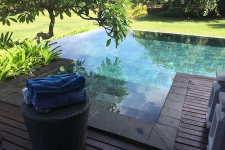 Luxury villa sea view private pool - Bel ombre - Huis