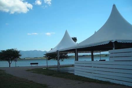 Collocation villa 3 chambres au bord du lac - Ev