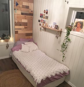 Charming room close to city center - House