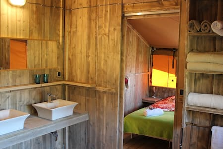 Glamping Casa Ohashi (Lodge tent) - Carvalhal Benfeito