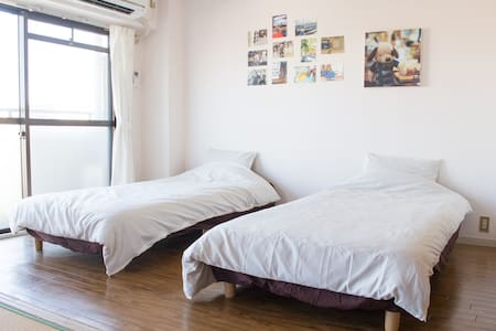 【3DK Max 7 guests】With Parking / 15min from center - Appartement