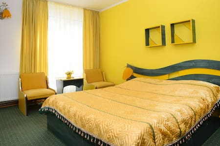 Lovely Mountain Yellow Room