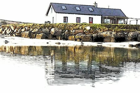 Traighena Bay (Trawenagh) Cottage - Lettermacaward - Rumah