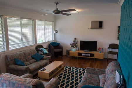 Large sunny room