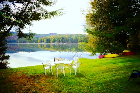 Lake Fairlee Cape, Private Dock & Spacious Lawn - Fairlee - House