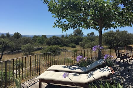 Gorgeous house in the Luberon, 5 km from Gordes - Dom