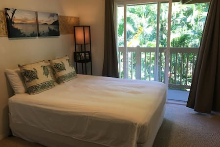 Private master bedroom in the heart of Kona - 아파트